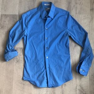 Express XS Men's Long Sleeve Button down